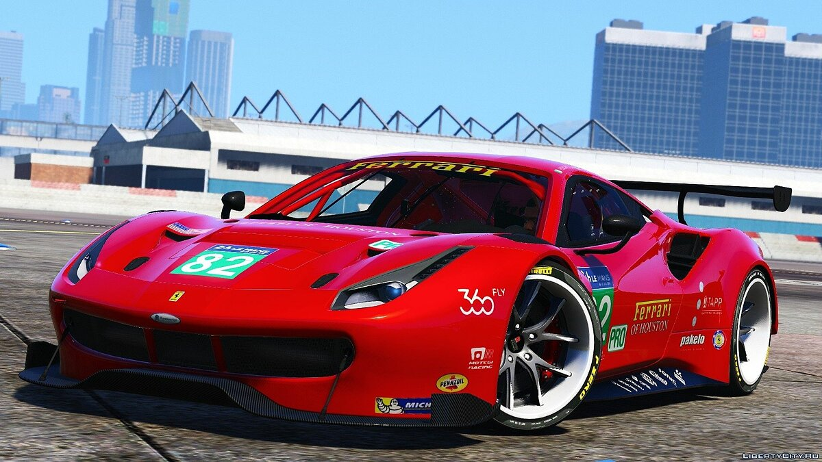 Ferrari 488 GT3 [Add-On] для GTA 5