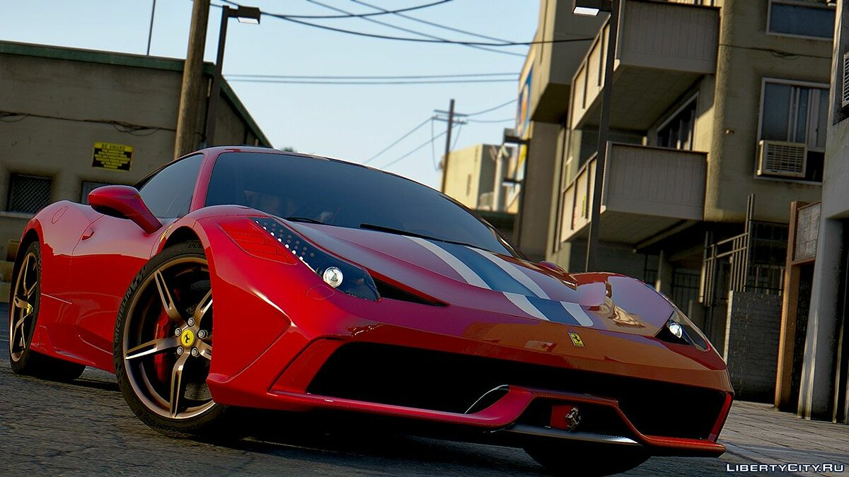 Ferrari 458 Speciale 2015 [ADD-ON] 1.0 для GTA 5