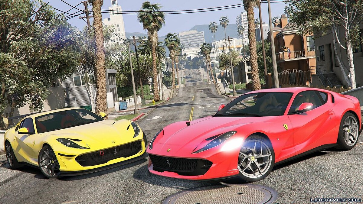 2018 Ferrari 812 Superfast [Add-On / Replace] 1.1 для GTA 5