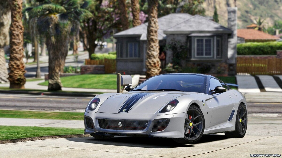 Ferrari 599 GTO [Add-On] 1.0 для GTA 5