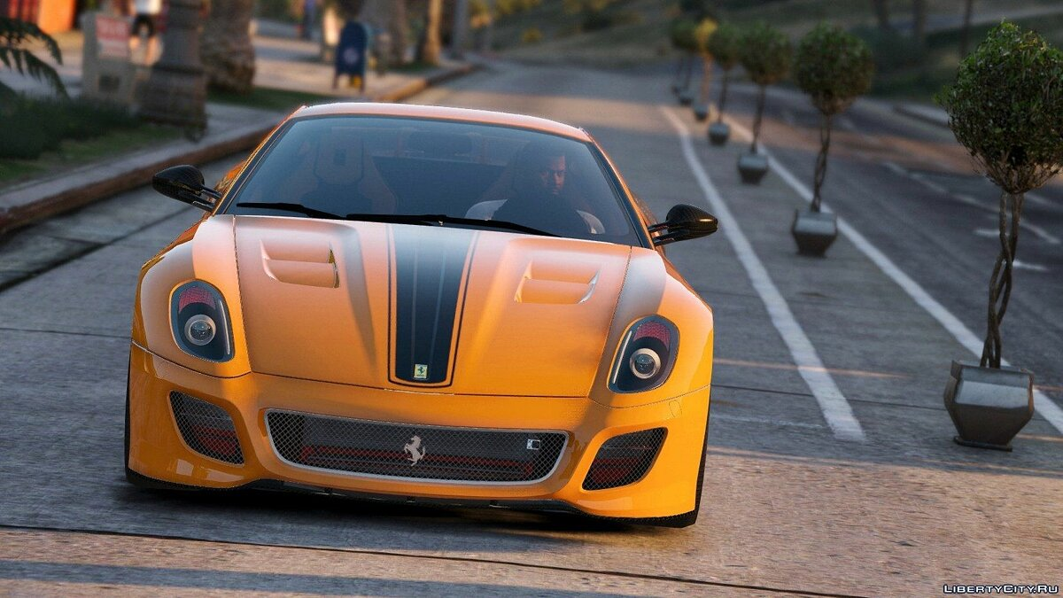 Ferrari 599 GTO [Add-On] 1.0 для GTA 5 - скриншот #7
