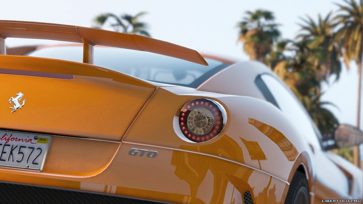 Ferrari 599 GTO [Add-On] 1.0 для GTA 5 - скриншот #4