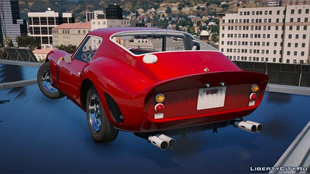 Ferrari 250 GTO 1962 [Add-On / Replace] для GTA 5 - скриншот #3