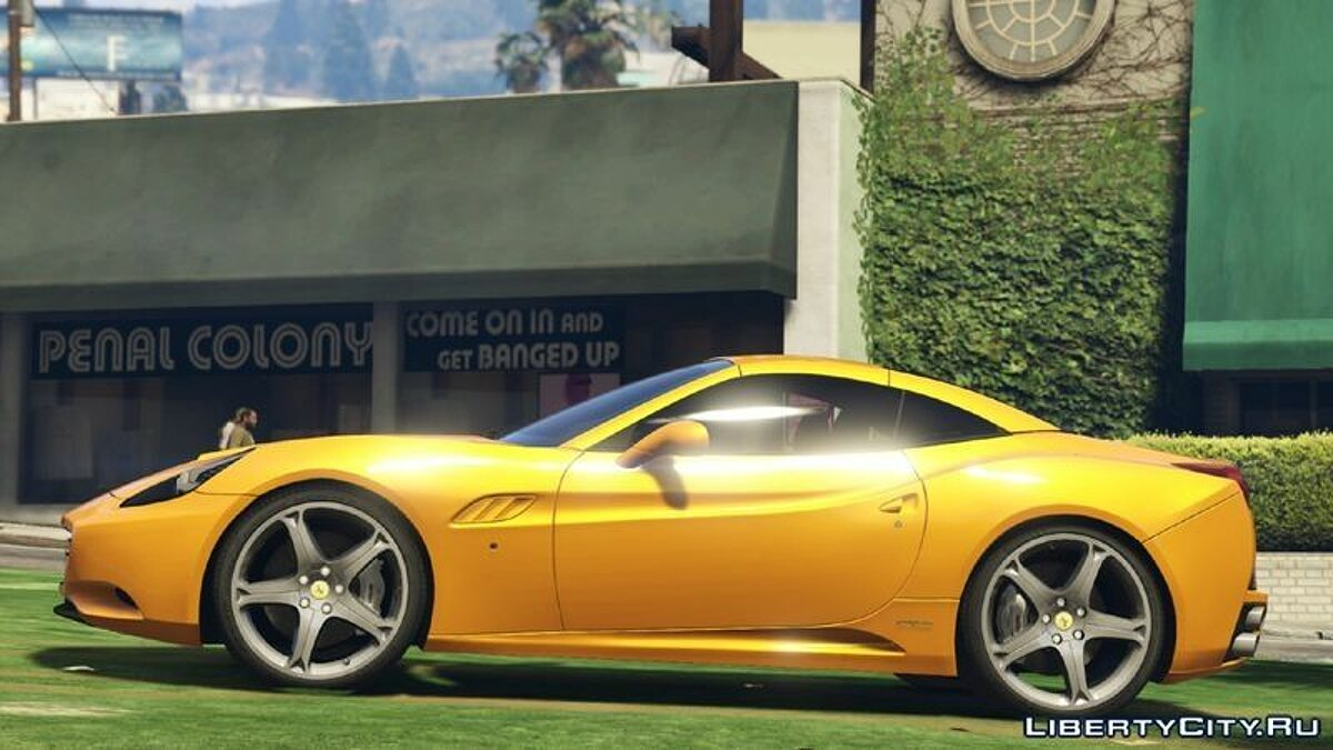 2012 Ferrari California для GTA 5 - скриншот #4