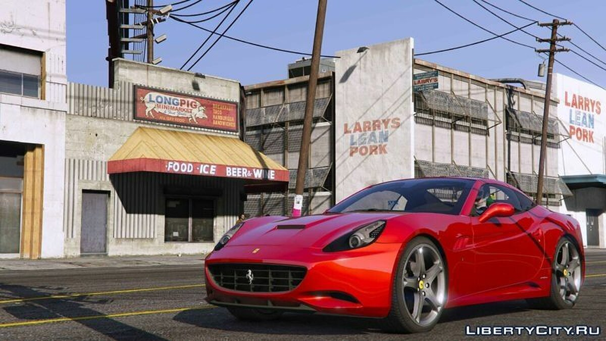 2012 Ferrari California для GTA 5 - скриншот #3