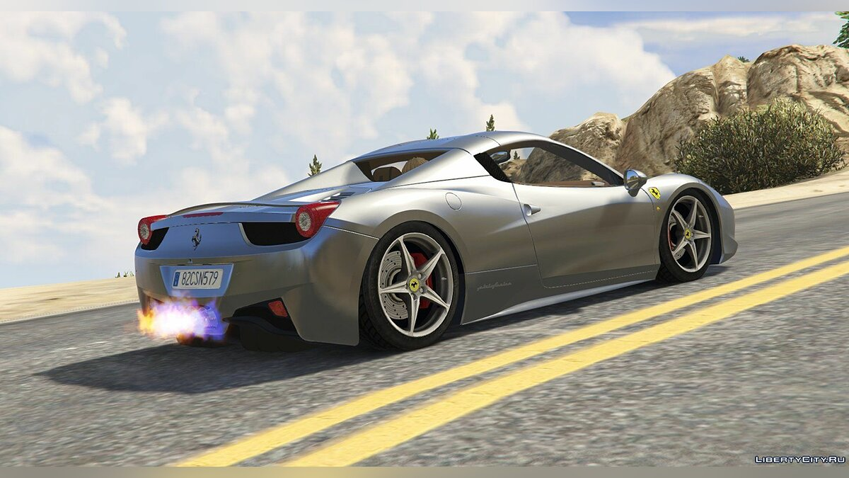 Ferrari 458 Spider 2013 [Add-On | Tuning | Livery] 1.0 для GTA 5 - скриншот #2