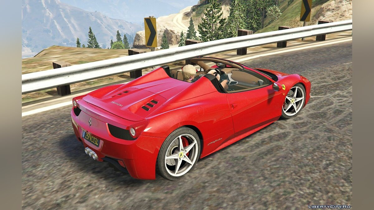 Ferrari 458 Spider 2013 [Add-On | Tuning | Livery] 1.0 для GTA 5