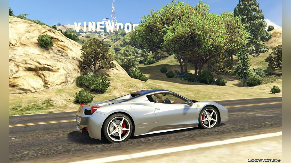 Ferrari 458 Spider 2013 [Add-On | Tuning | Livery] 1.0 для GTA 5 - скриншот #13