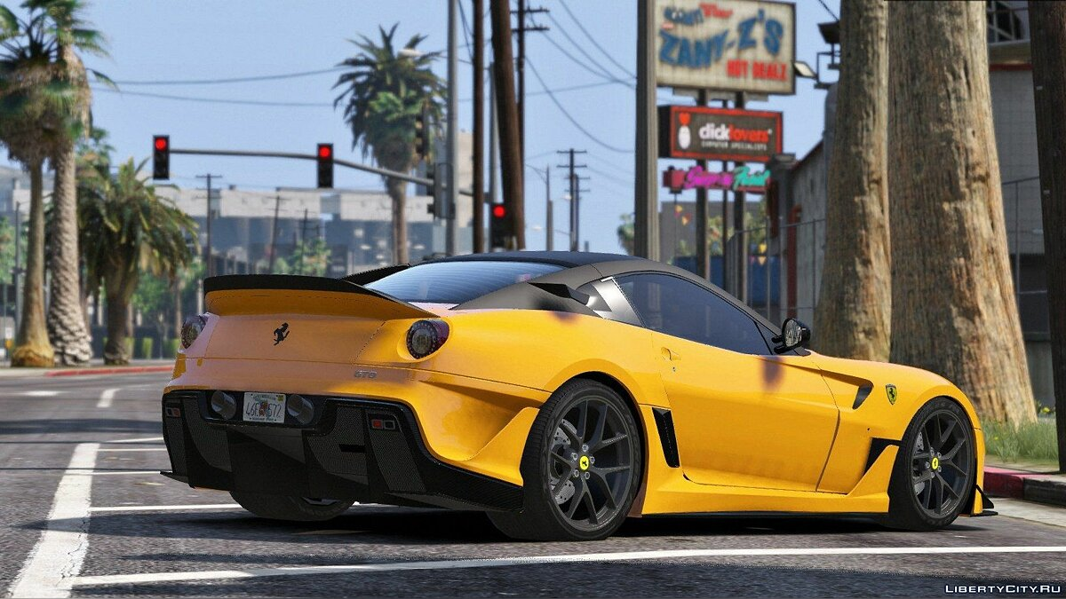 Ferrari 599 GTO [Add-On / Replace + 599xx Tuning] 2.0 для GTA 5 - скриншот #2