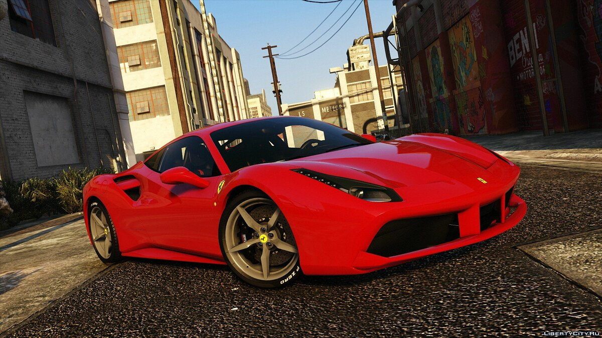 2016 Ferrari 488 GTB [Add-On | Tuning] для GTA 5