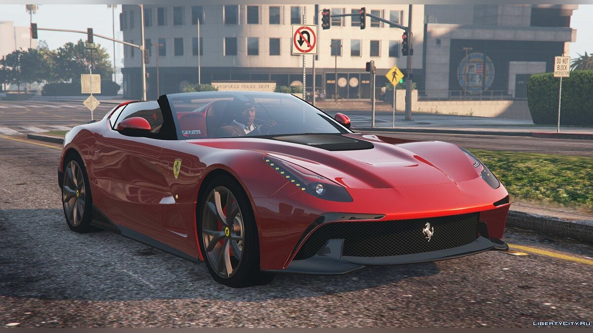 Ferrari F12 TRS Roadster [Add-On Tuning Livery] 1.1 для GTA 5 - скриншот #8