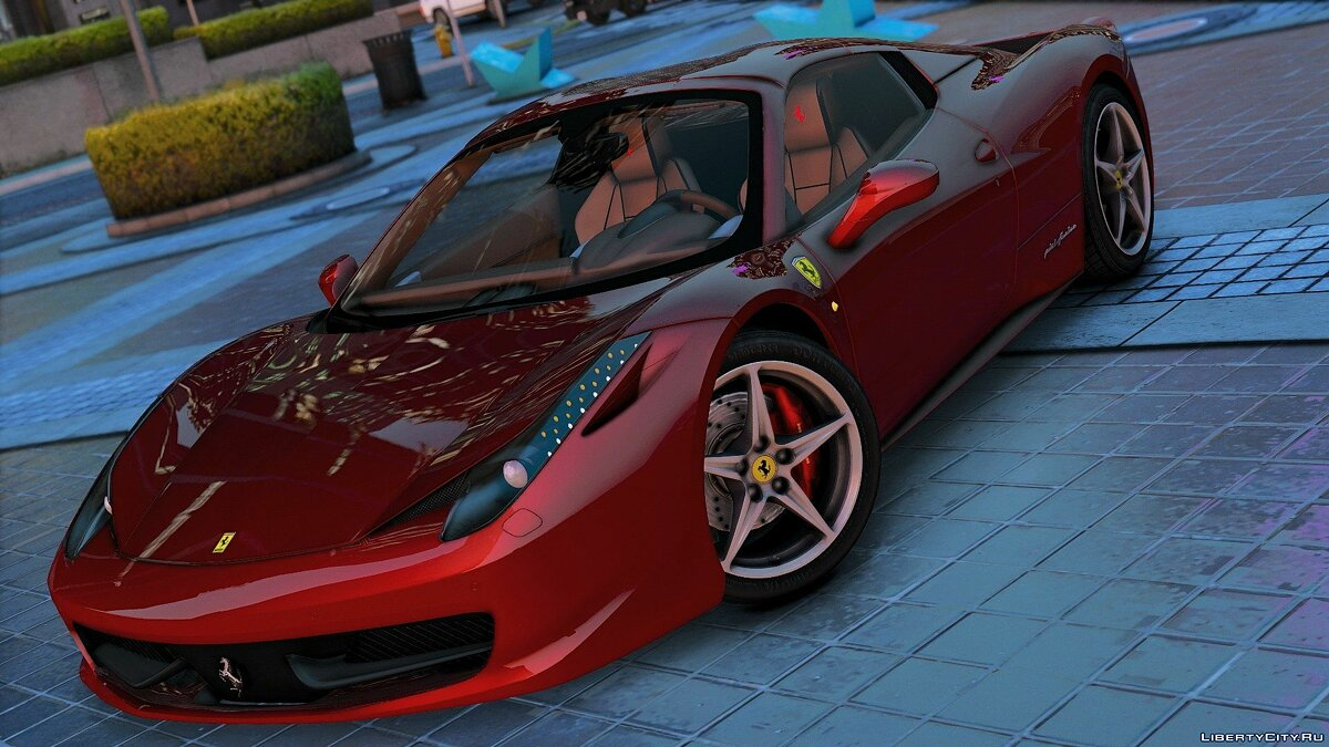 Машина Ferrari Ferrari 458 Spider 2013 [Add-On / Replace | Tuning | Livery] 1.5 для GTA 5