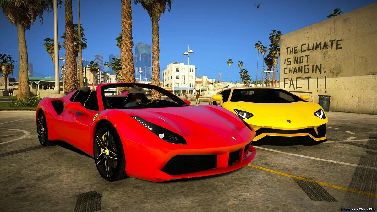 Ferrari 488 Spider 2016 [Add-on | Extras] 1.0 для GTA 5 - Картинка #1