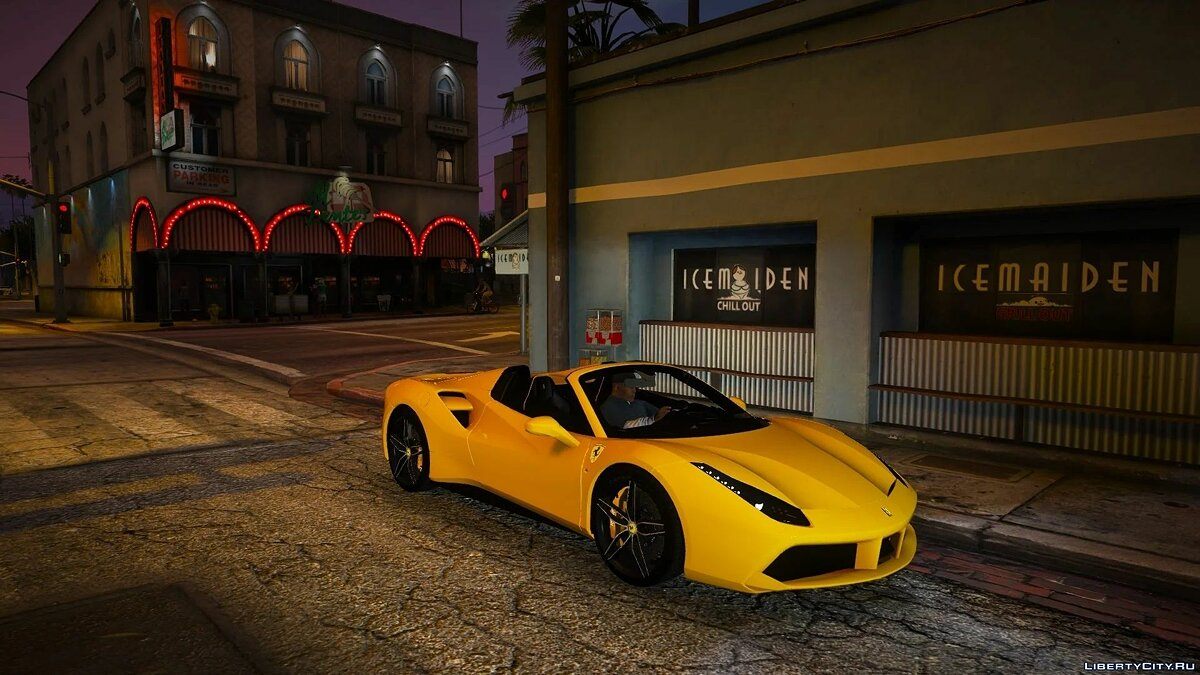 Ferrari 488 Spider 2016 [Add-on | Extras] 1.0 для GTA 5 - Картинка #4