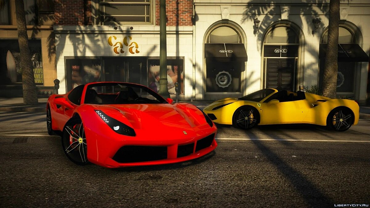 Ferrari 488 Spider 2016 [Add-on | Extras] 1.0 для GTA 5 - Картинка #5