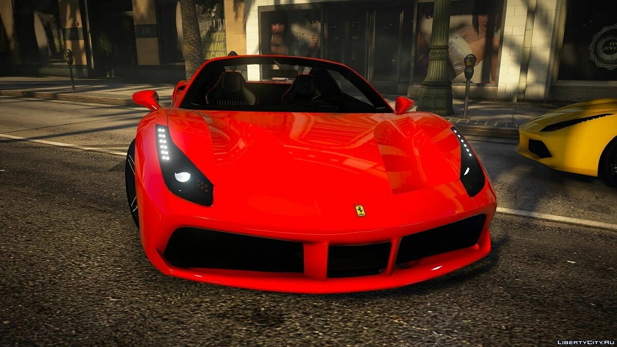 Ferrari 488 Spider 2016 [Add-on | Extras] 1.0 для GTA 5 - Картинка #6