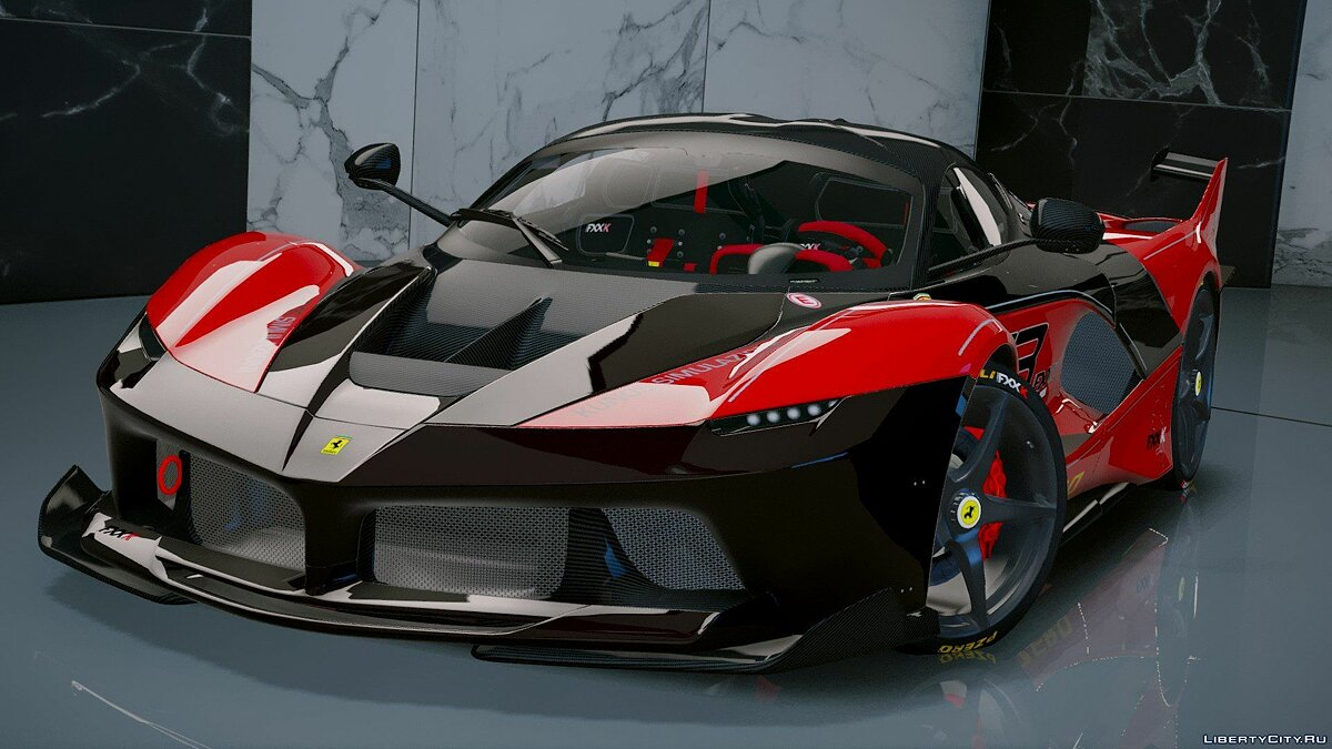 Ferrari FXX-K Hybrid Hypercar [Add-On] 1.2 для GTA 5 - скриншот #4