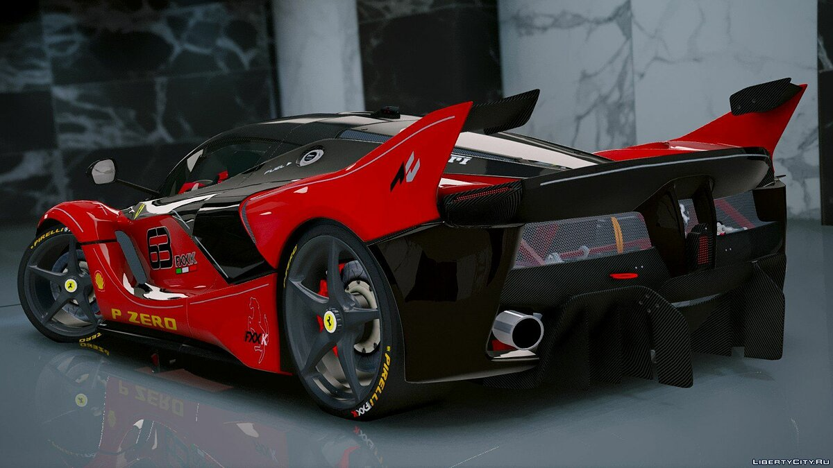Ferrari FXX-K Hybrid Hypercar [Add-On] 1.2 для GTA 5 - скриншот #5