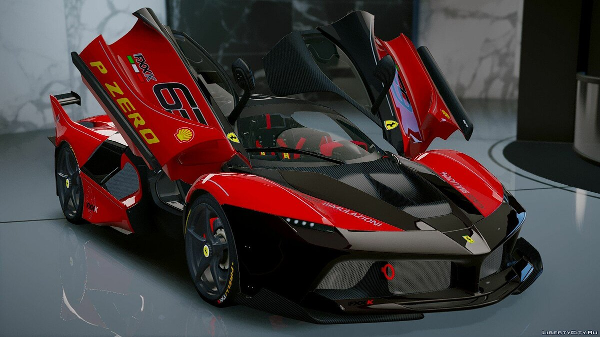 Ferrari FXX-K Hybrid Hypercar [Add-On] 1.2 для GTA 5 - скриншот #9