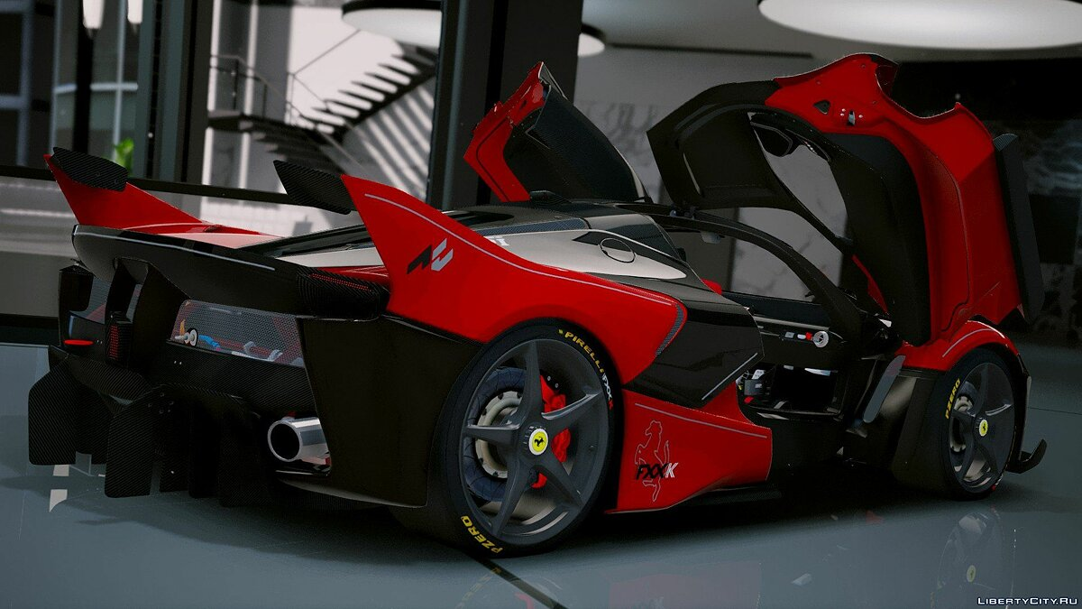 Ferrari FXX-K Hybrid Hypercar [Add-On] 1.2 для GTA 5 - скриншот #10