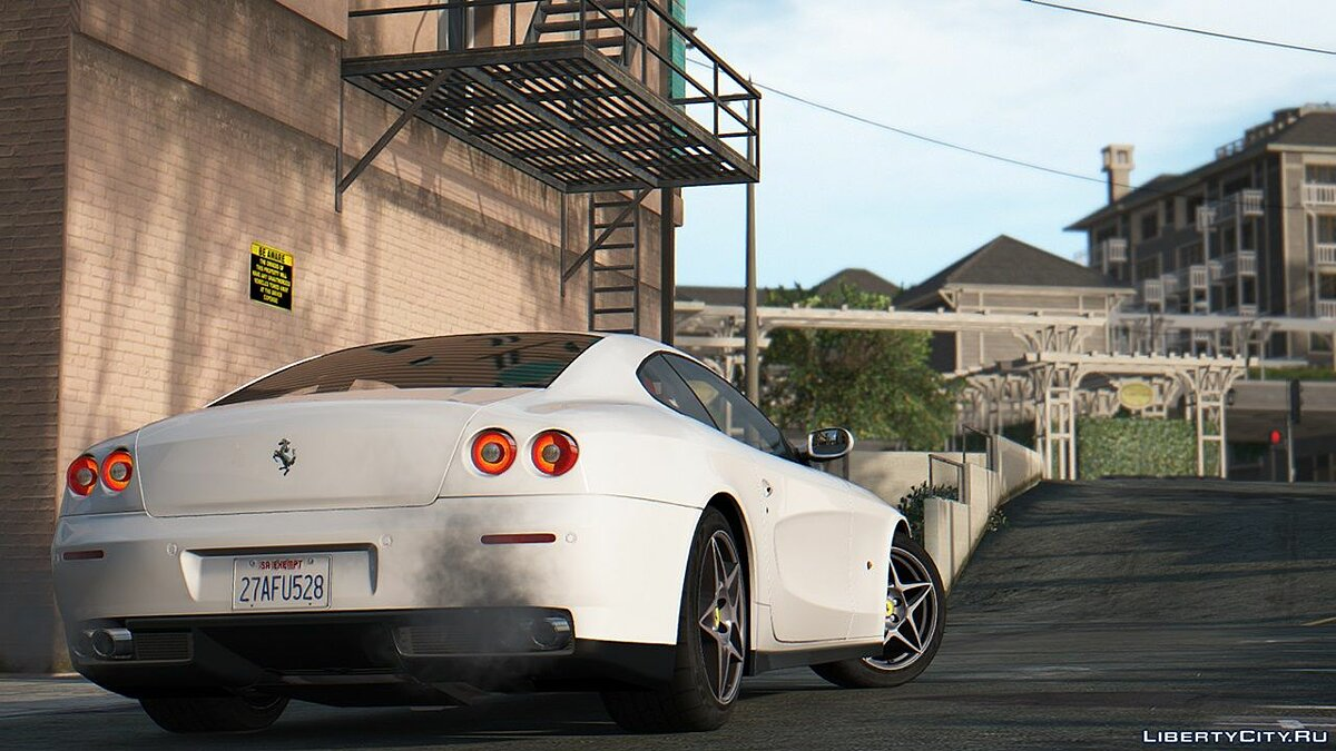 Машина Ferrari Ferrari 612 Scaglietti 2004 [Add-On | Tuning] 1.0 для GTA 5