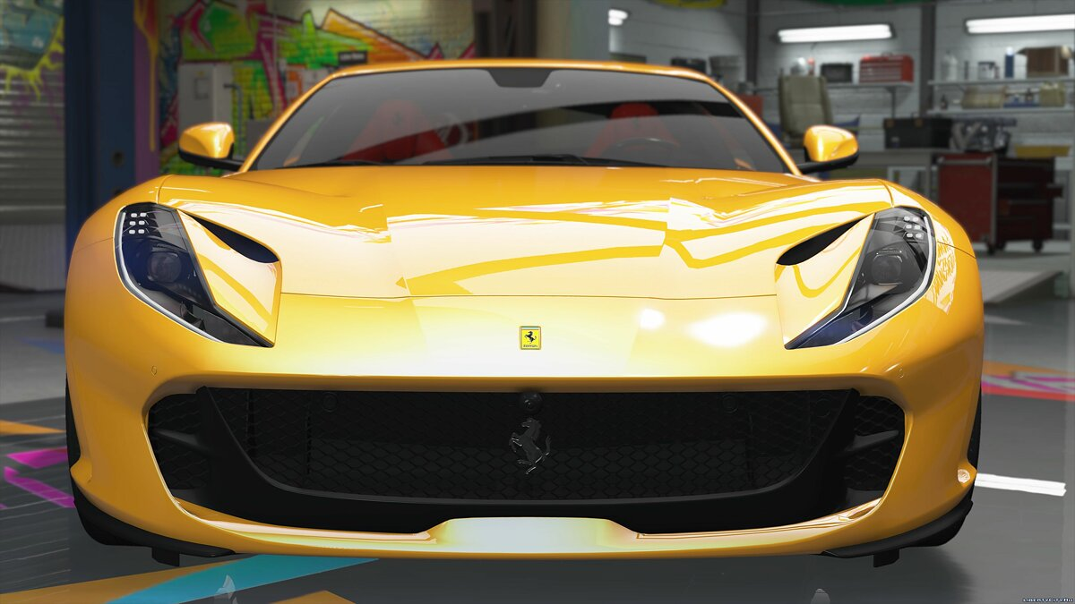 2018 Ferrari 812 Superfast [Livery | Add-on | Replace] 2.7 для GTA 5