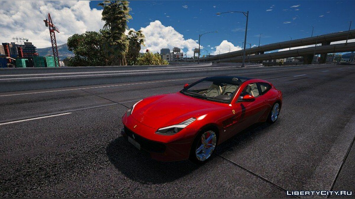 Машина Ferrari Ferrari GTC4 Lusso [Add-On / Replace] 1.0 для GTA 5
