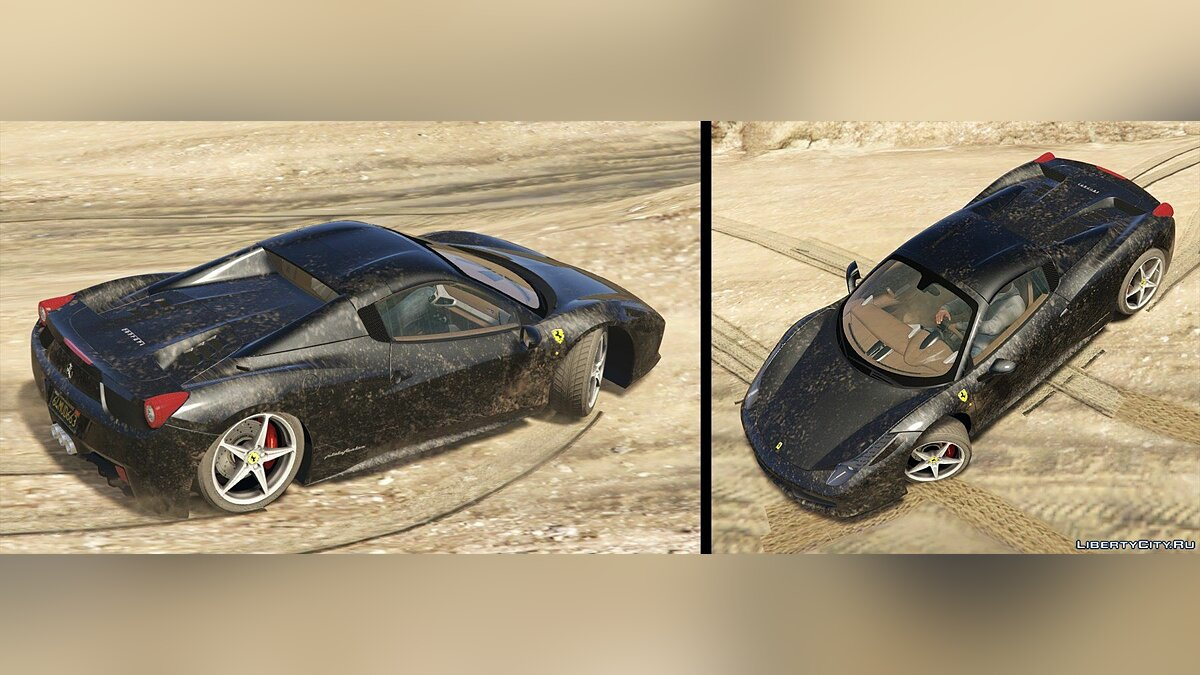 Ferrari 458 Italia & Spider (2 Cars Pack) [Add-On / Replace | Tuning | Livery] 2.5 для GTA 5 - скриншот #14