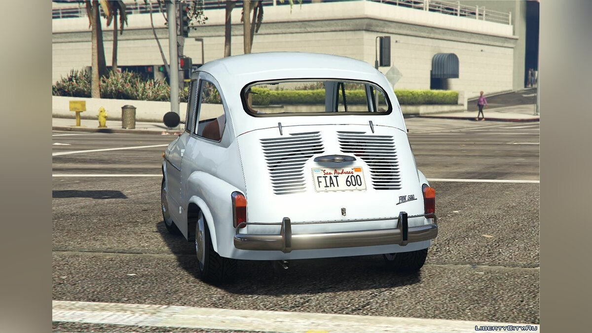 Машина Fiat Fiat 600 | Seat 600 | Zastava 750 [Add-On] Suicide doors + Tuning parts 1.0 для GTA 5