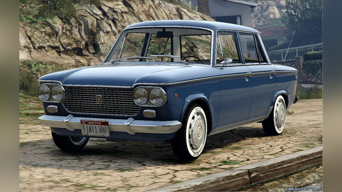 Машина Fiat Fiat 1300 | Zastava 1300 | Fiat 1500 [Add-On / Replace | Tuning | Liveries | Extras | LODS] 1.0 для GTA 5