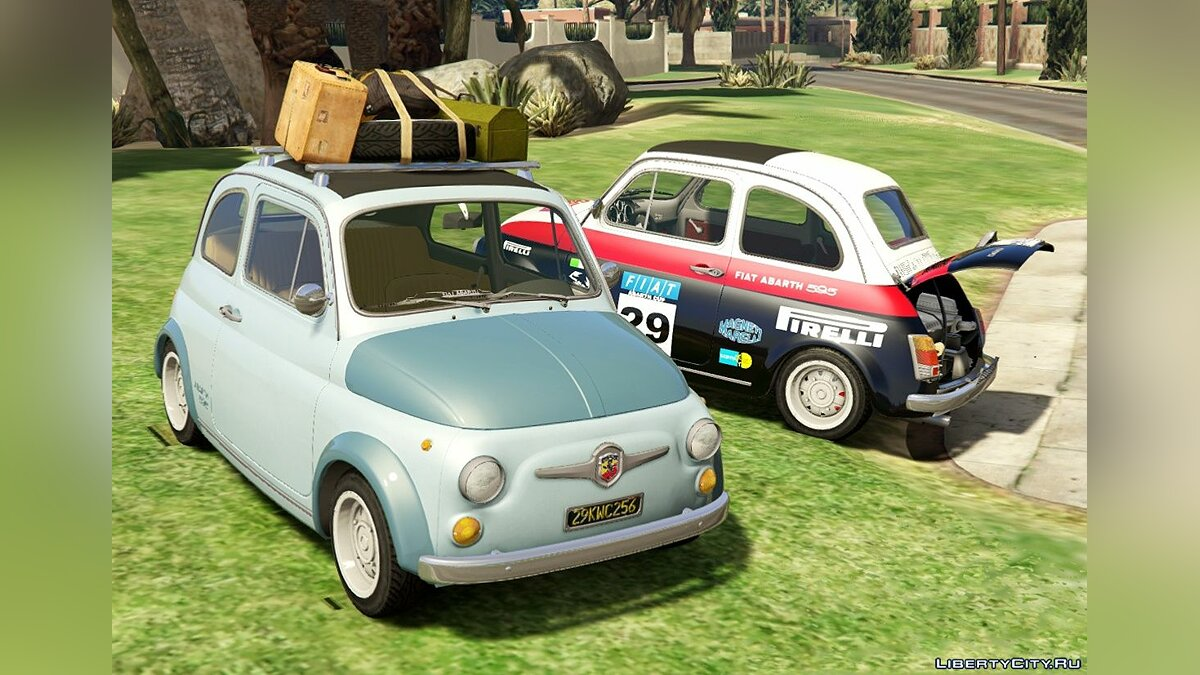 Машина Fiat Fiat Abarth 595ss (2in1) [Add-On / Replace | Tuning | Livery] 1.4 для GTA 5