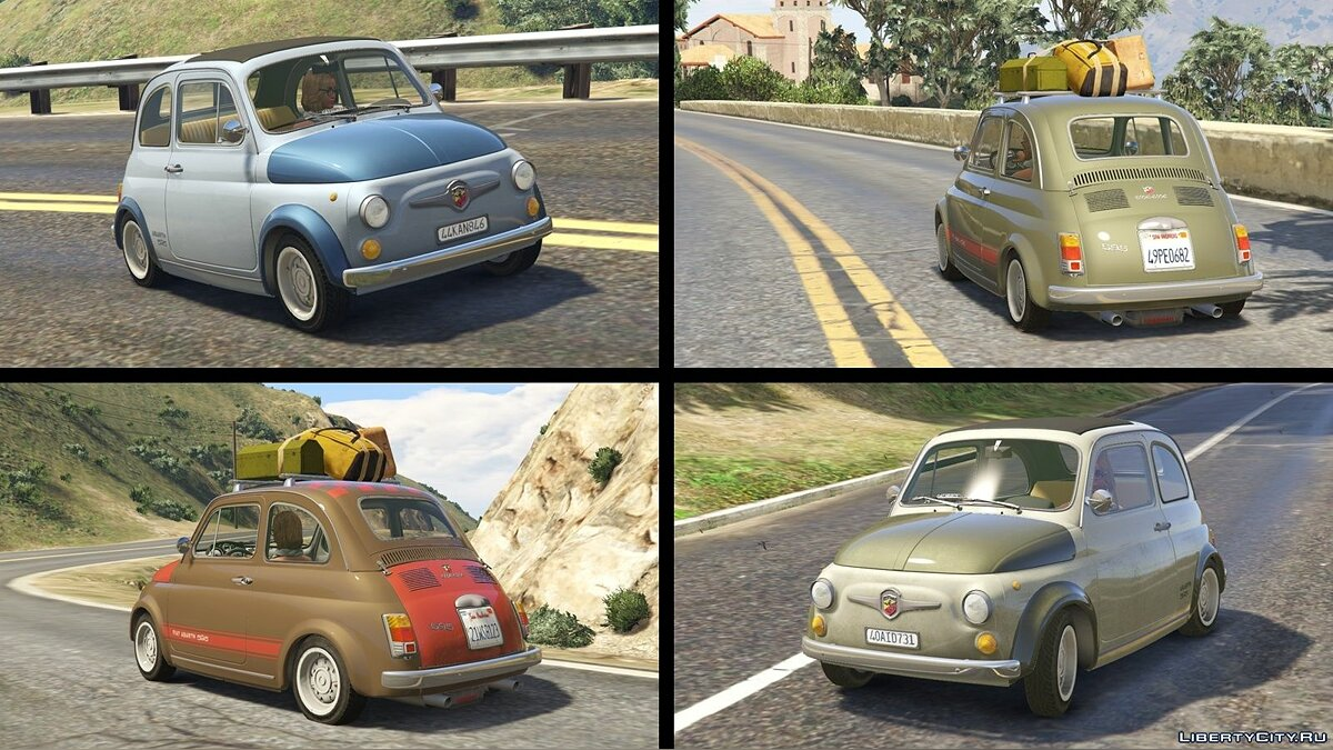 Fiat Abarth 595ss (2in1) [Add-On / Replace | Tuning | Livery] 1.4 для GTA 5 - скриншот #6