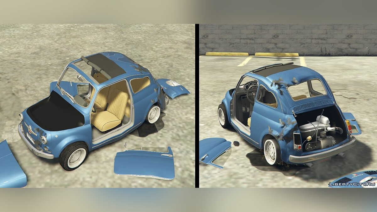 Fiat Abarth 595ss (2in1) [Add-On / Replace | Tuning | Livery] 1.4 для GTA 5 - скриншот #9
