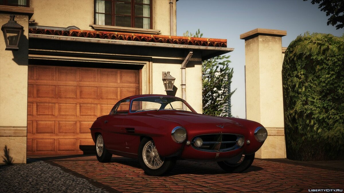 Машина Fiat 1953 Fiat 8V Supersonic [Add-On | LODs] 1.0a для GTA 5