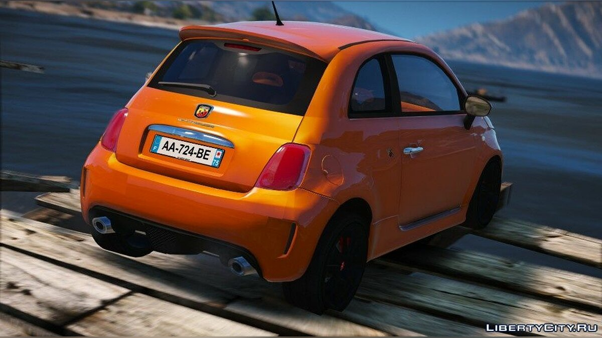 Машина Fiat Abarth 500 EsseEsse (Add-on/Unlock) 1.0 для GTA 5