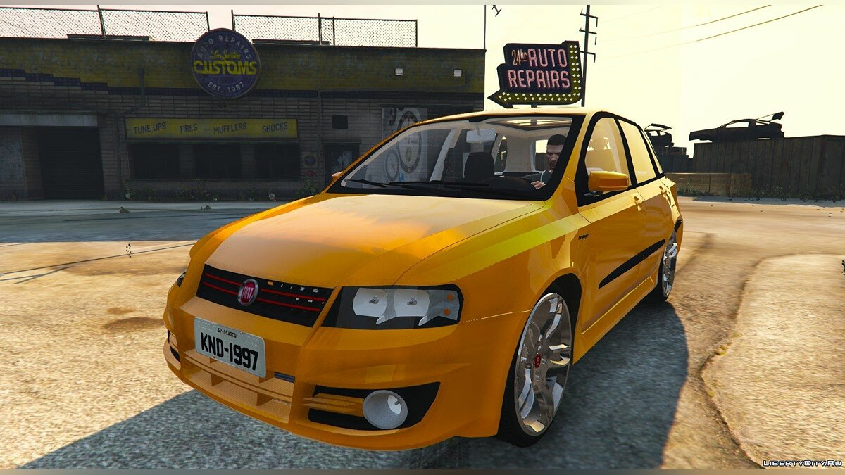 Fiat Stilo Sporting (Two Versions) для GTA 5