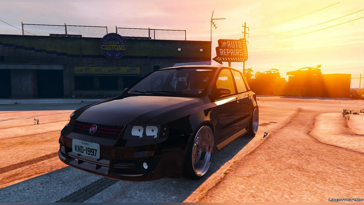 Fiat Stilo Sporting (Two Versions) для GTA 5 - скриншот #2
