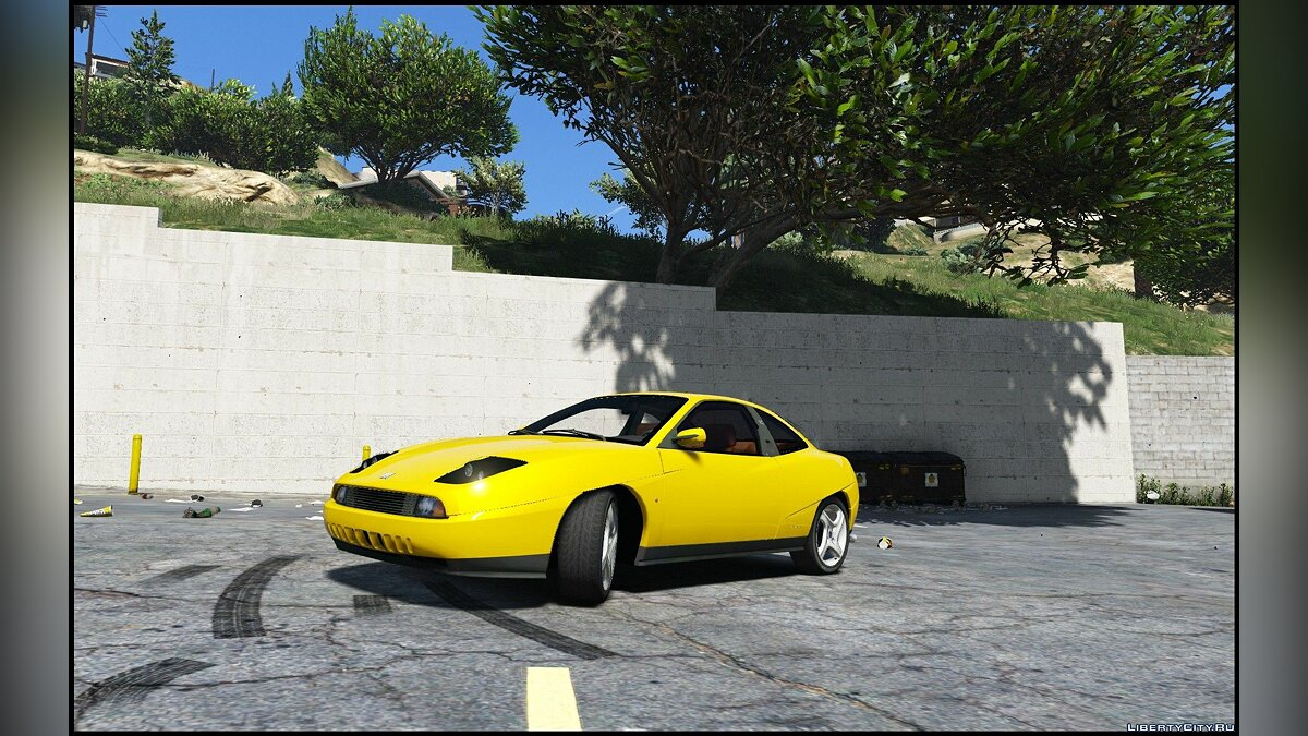 Fiat Coupe [Add-On / Replace] 1.0 для GTA 5
