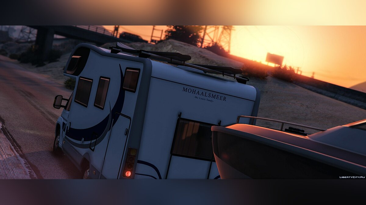 Fiat Campervan + Bike Trailer 0.1 [BETA] для GTA 5 - скриншот #4