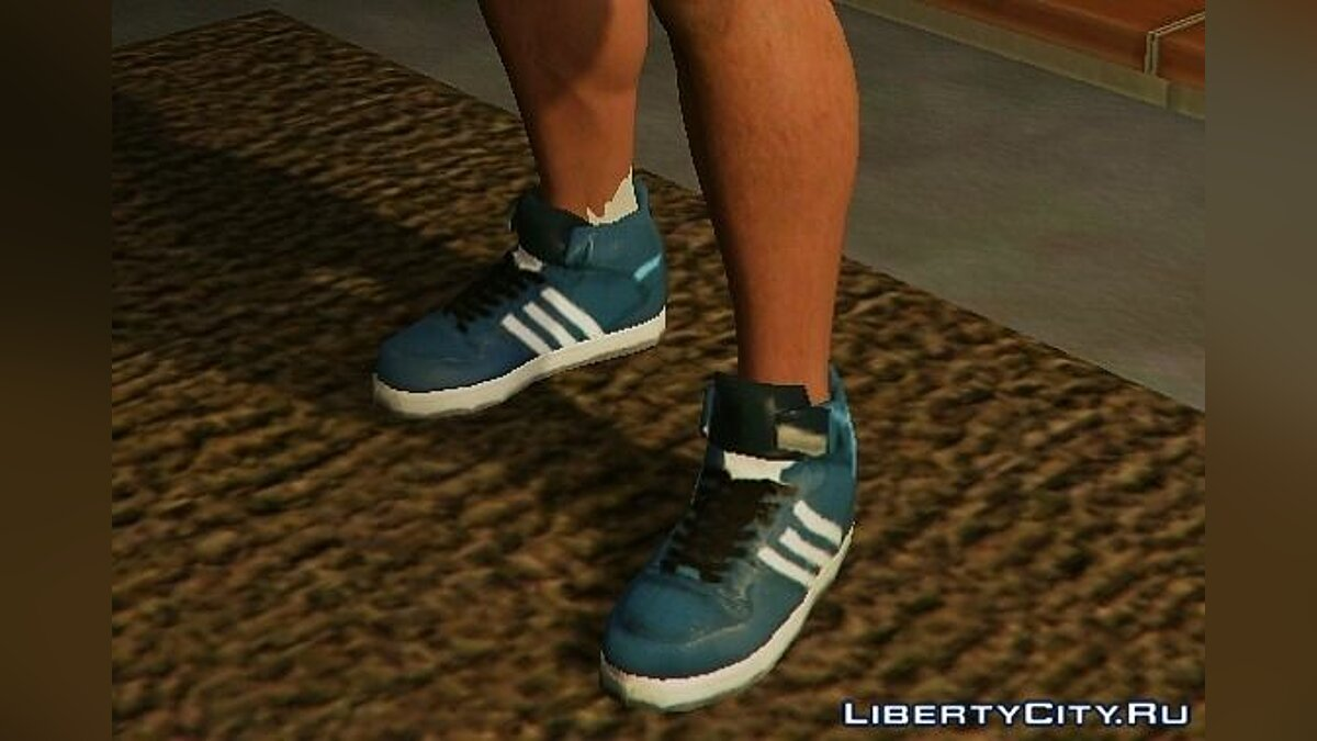 ��бувь и перчатки Adidas Clothes Pack для GTA 5