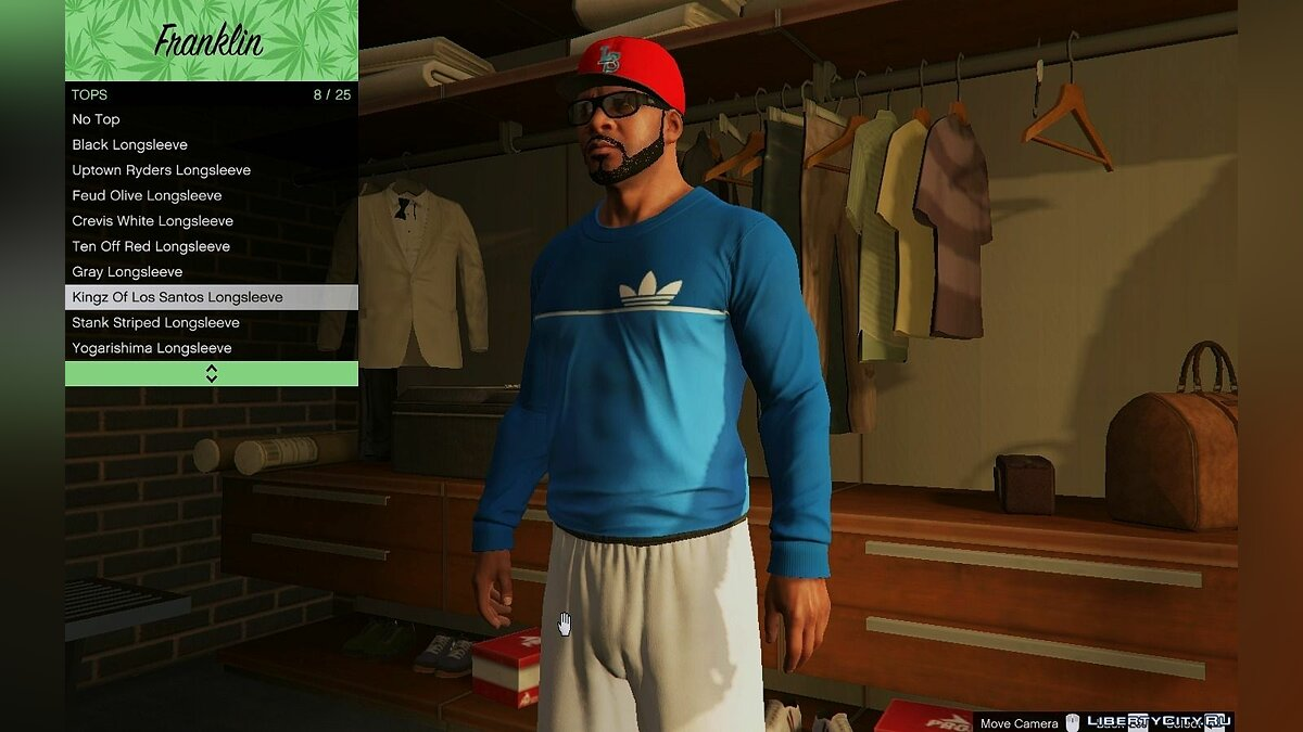 Adidas Clothes Pack для GTA 5 - скриншот #4