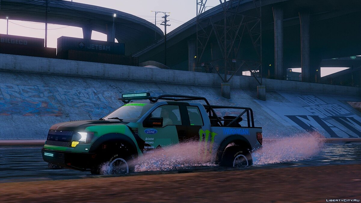 2012 Ford F150 SVT Raptor 2.0 для GTA 5 - скриншот #4