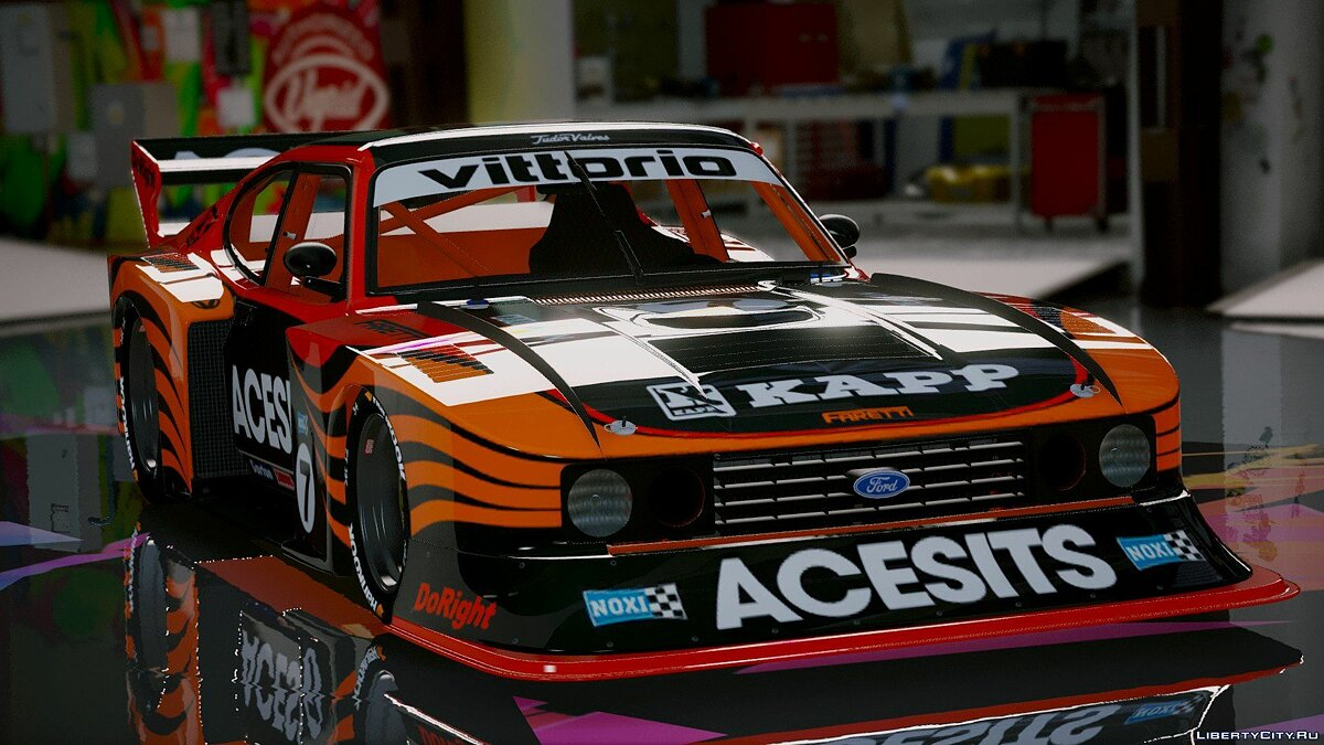 Ford Capri Zakspeed Group5 1980 [Add-On] 1.1 для GTA 5 - скриншот #9