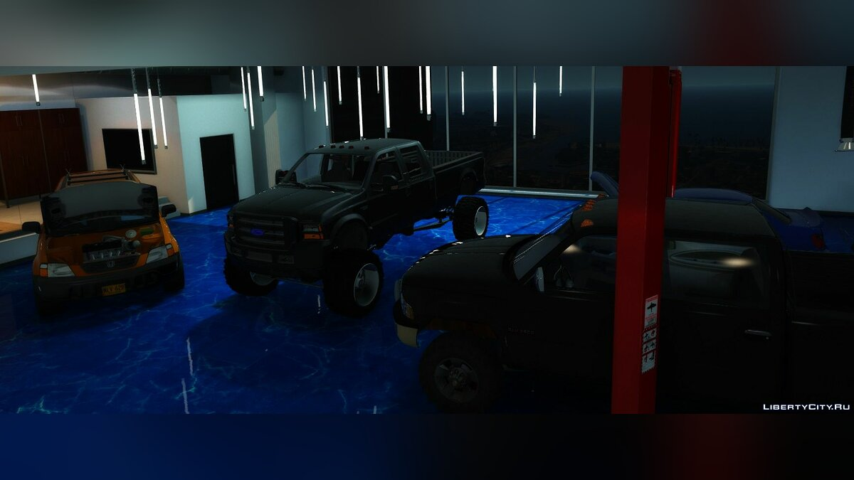 Машина Ford 2004 Ford F-250 Super Duty Lifted |REPLACE|FIVE-M| 1.0 для GTA 5