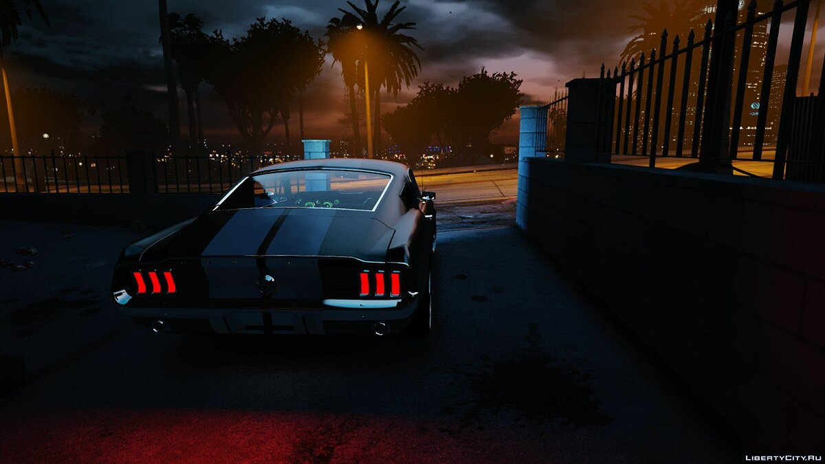 Машина Ford Ford Mustang Fastback 1967 (Replace) 1.0 для GTA 5
