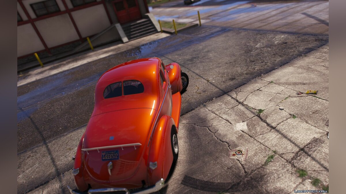 Машина Ford 1940 Ford Deluxe Coupe v1.3 [ADD-ON | TEMPLATE] для GTA 5