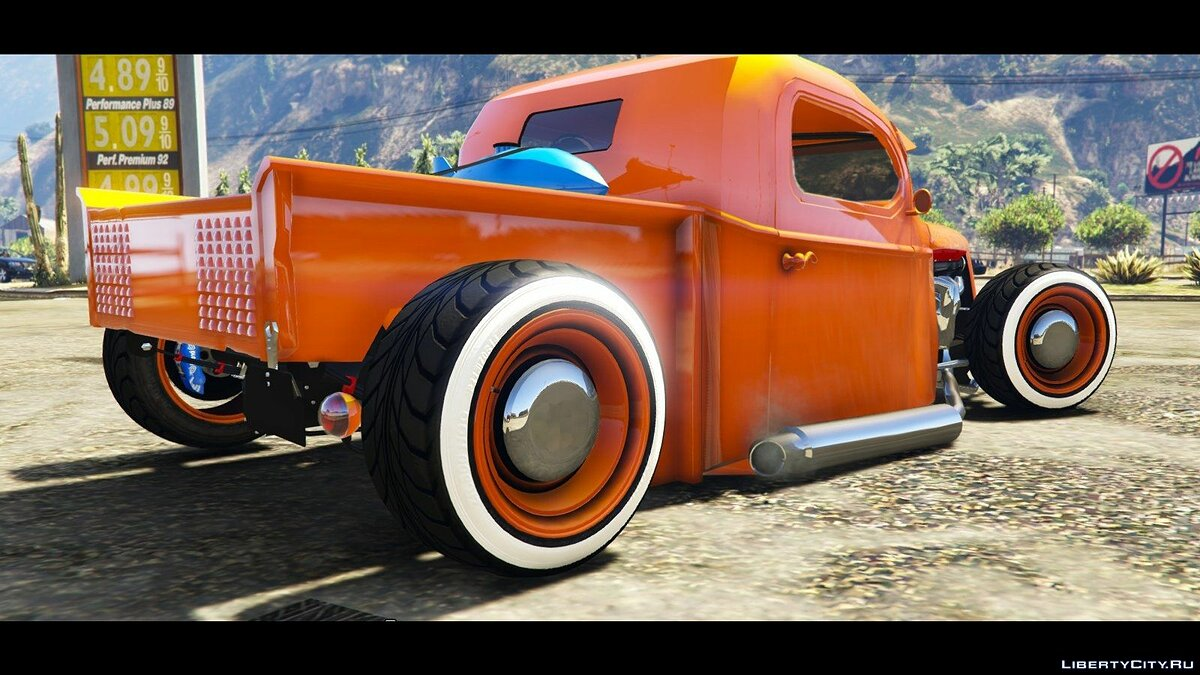 1936 Ford Pickup Hotrod Style[Full Tunable] для GTA 5