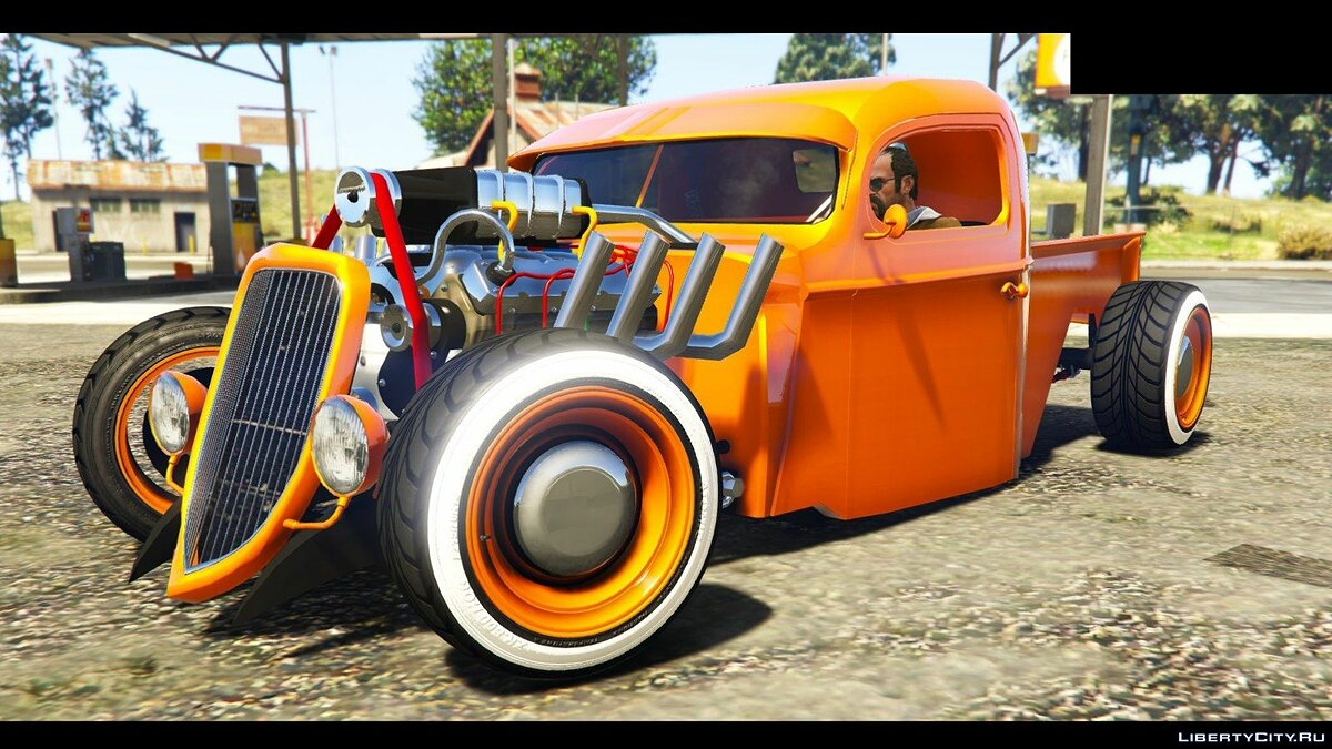 1936 Ford Pickup Hotrod Style[Full Tunable] для GTA 5 - Картинка #3