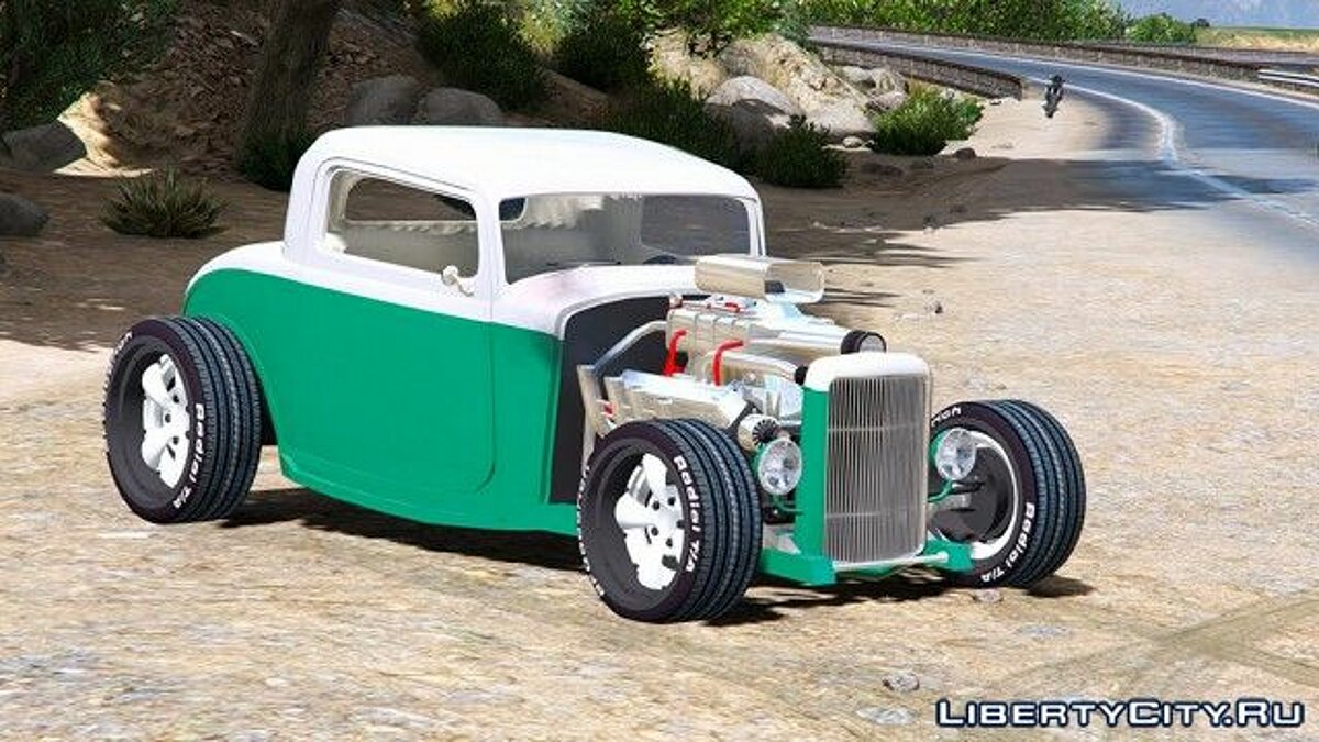 ��ашина Ford Ford Hot Rod 1932 v1.2 для GTA 5