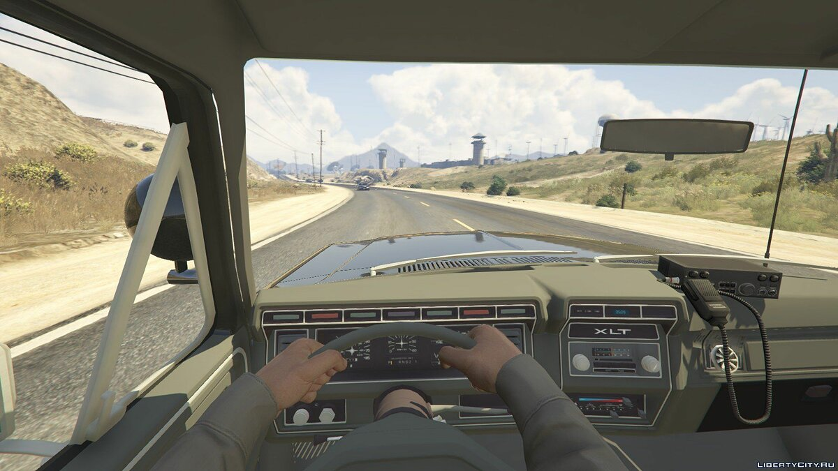 1980 Ford Bronco California Highway Patrol 1.0 для GTA 5 - скриншот #4